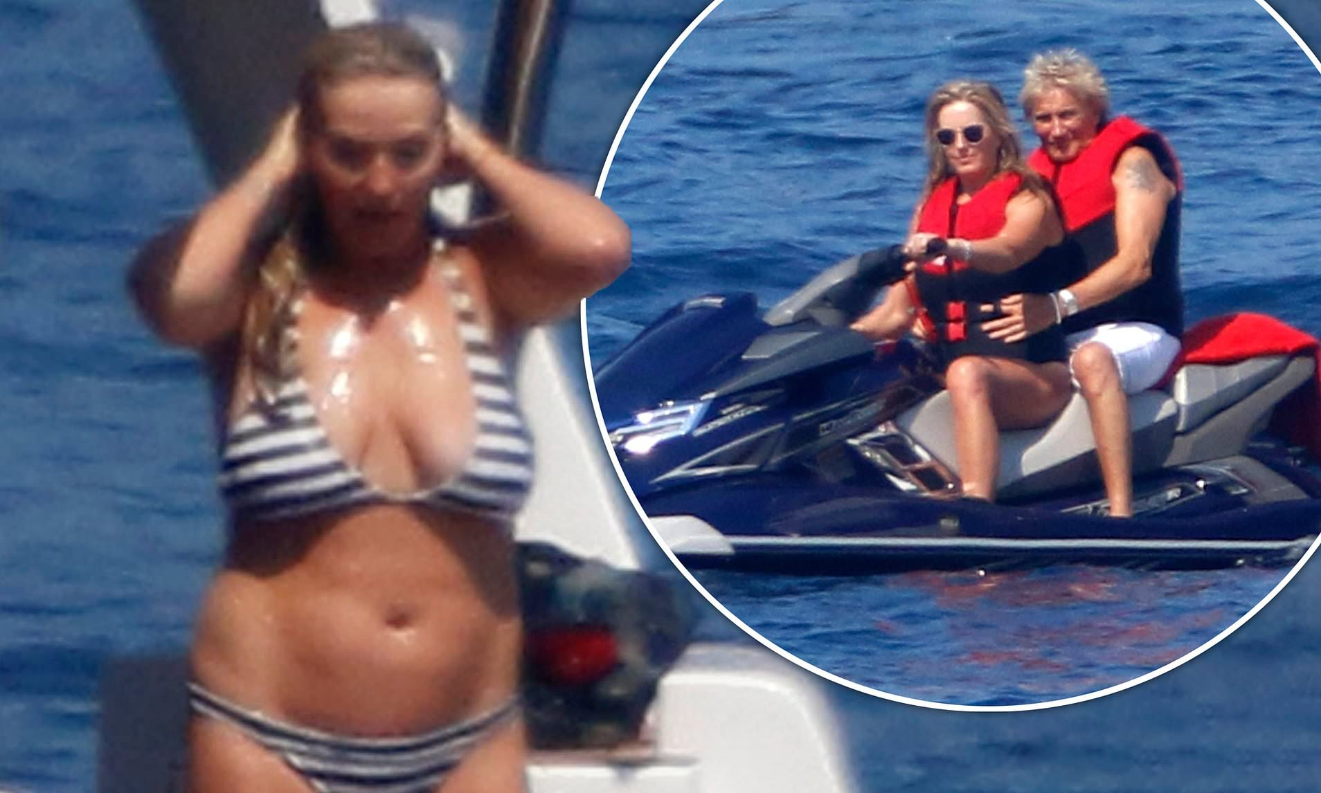 Penny Lancaster Topless photo 21