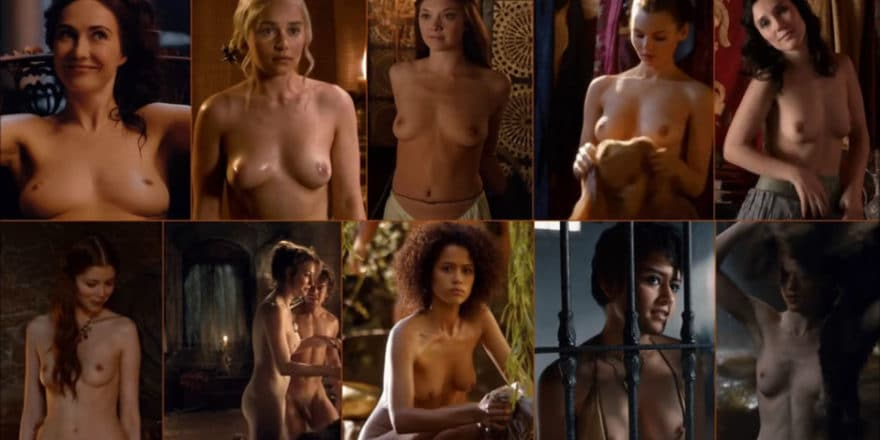 Game Of Thrones Topless photo 22