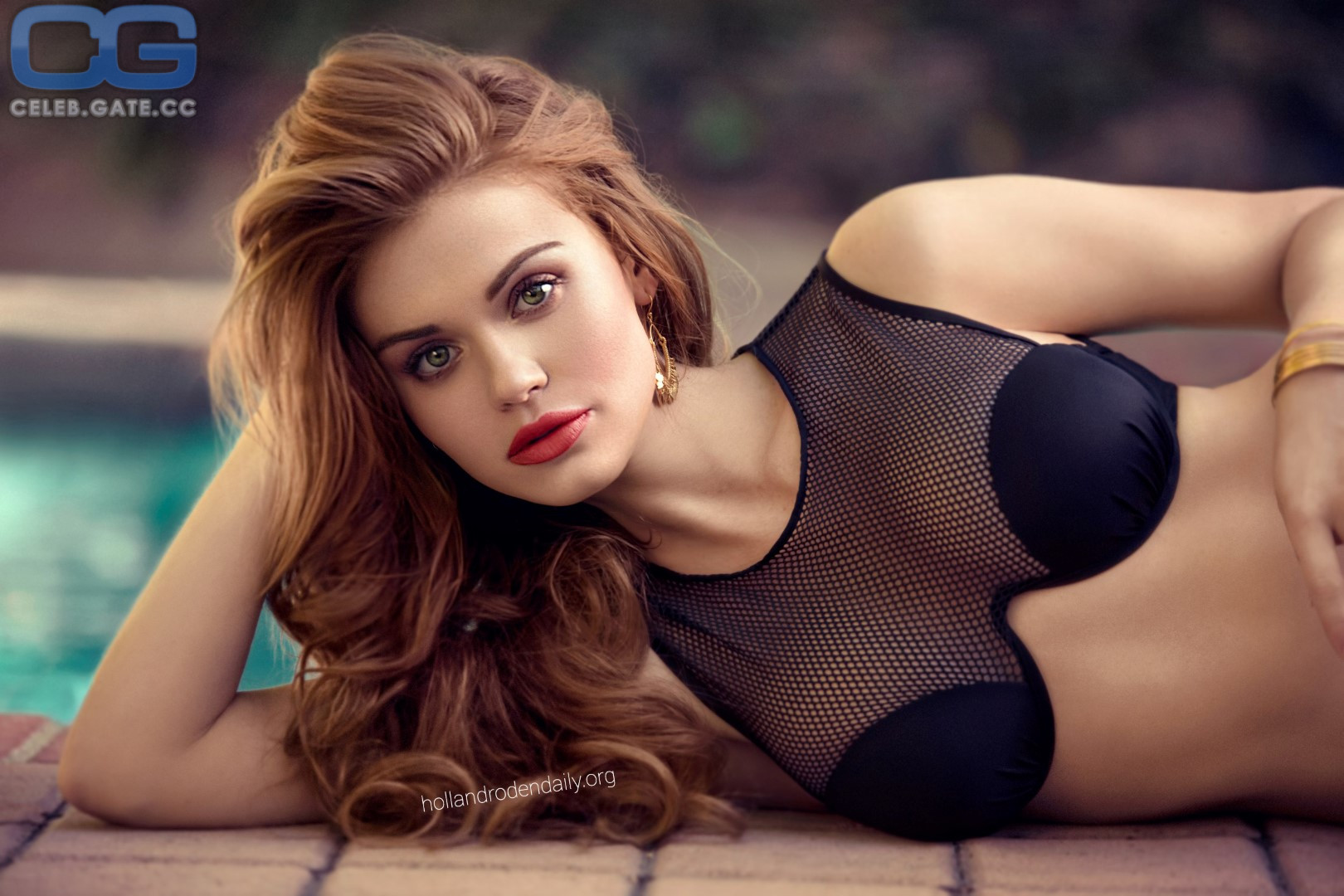 Holland Roden Topless photo 15
