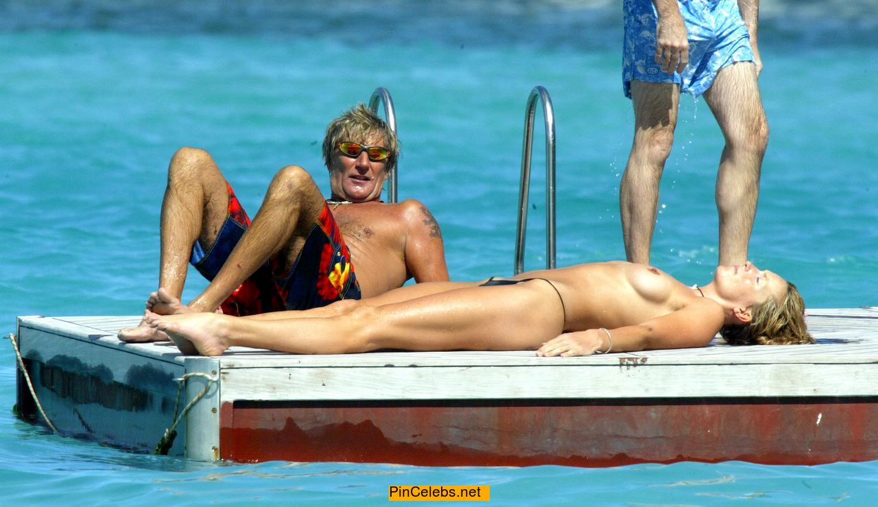 Penny Lancaster Topless photo 24