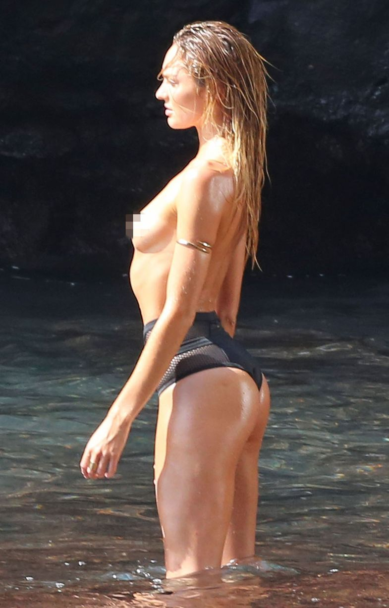 Candace Swanepoel Topless photo 30