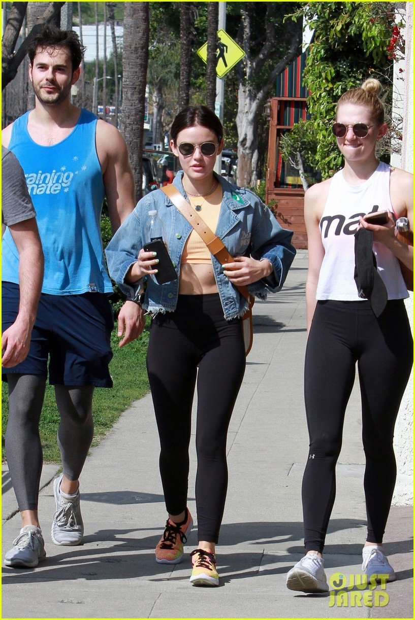 Lucy Hale Workout photo 22