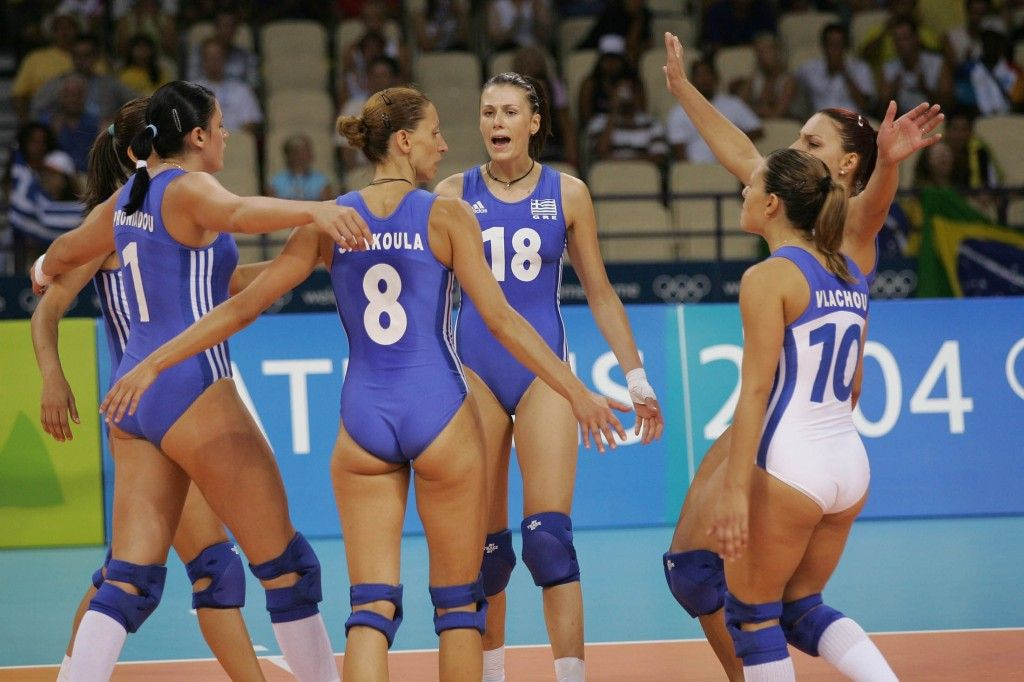 Female Volleyball Nude photo 12