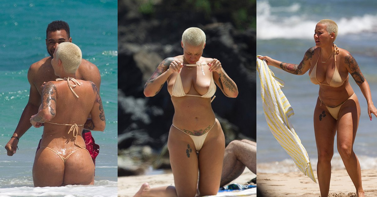 Amber Rose Toples photo 11