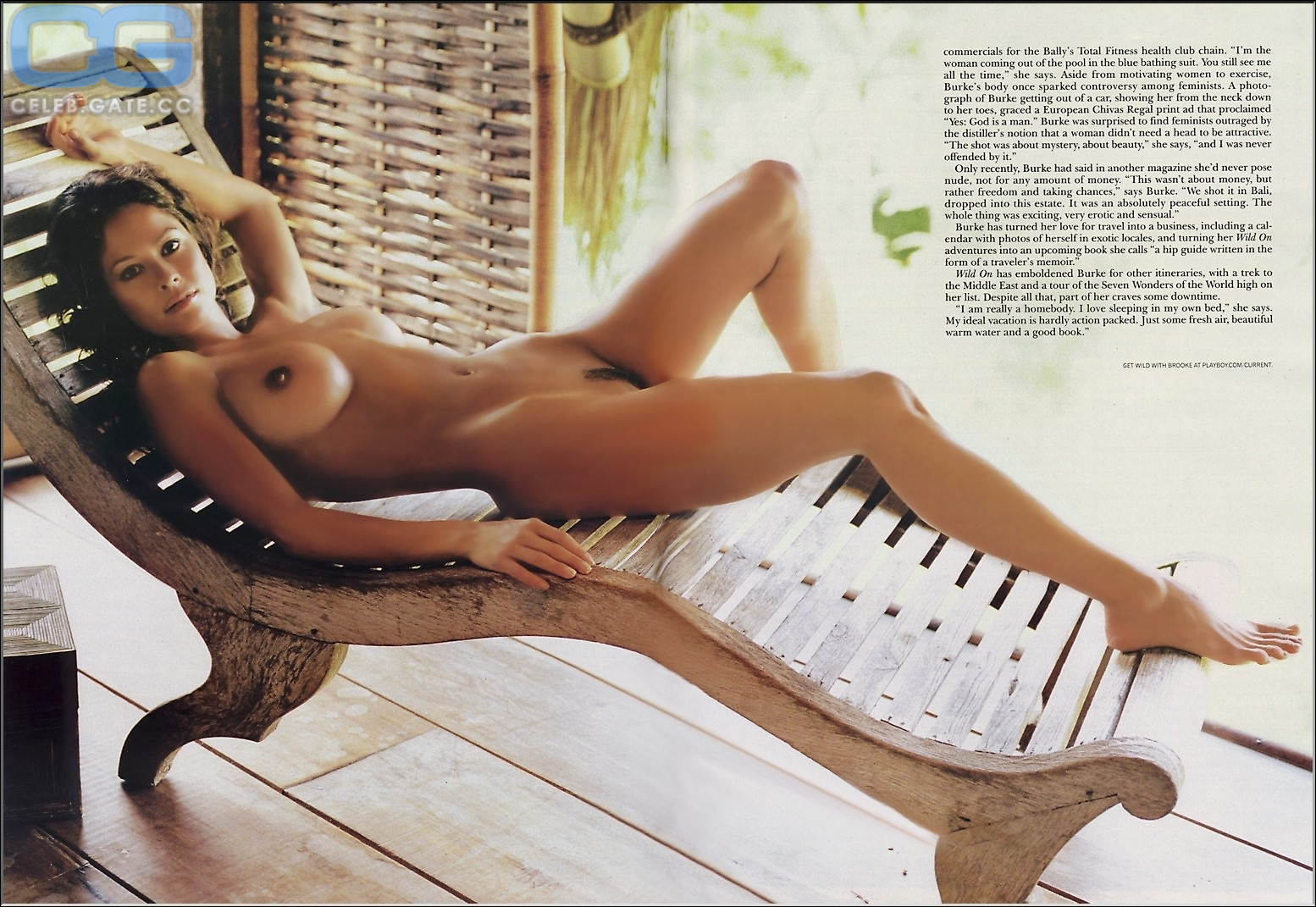 Playboy Pictures Of Brooke Burke photo 12