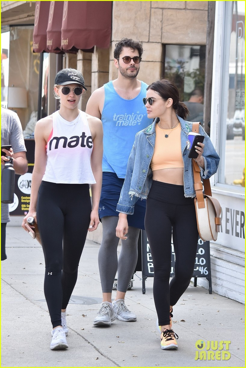 Lucy Hale Workout photo 7