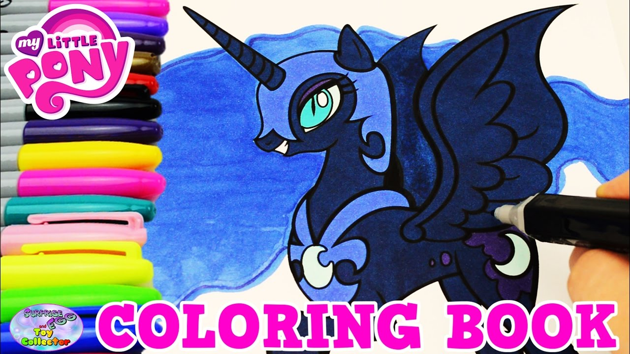 Mlp Coloring Pages Nightmare Moon photo 26