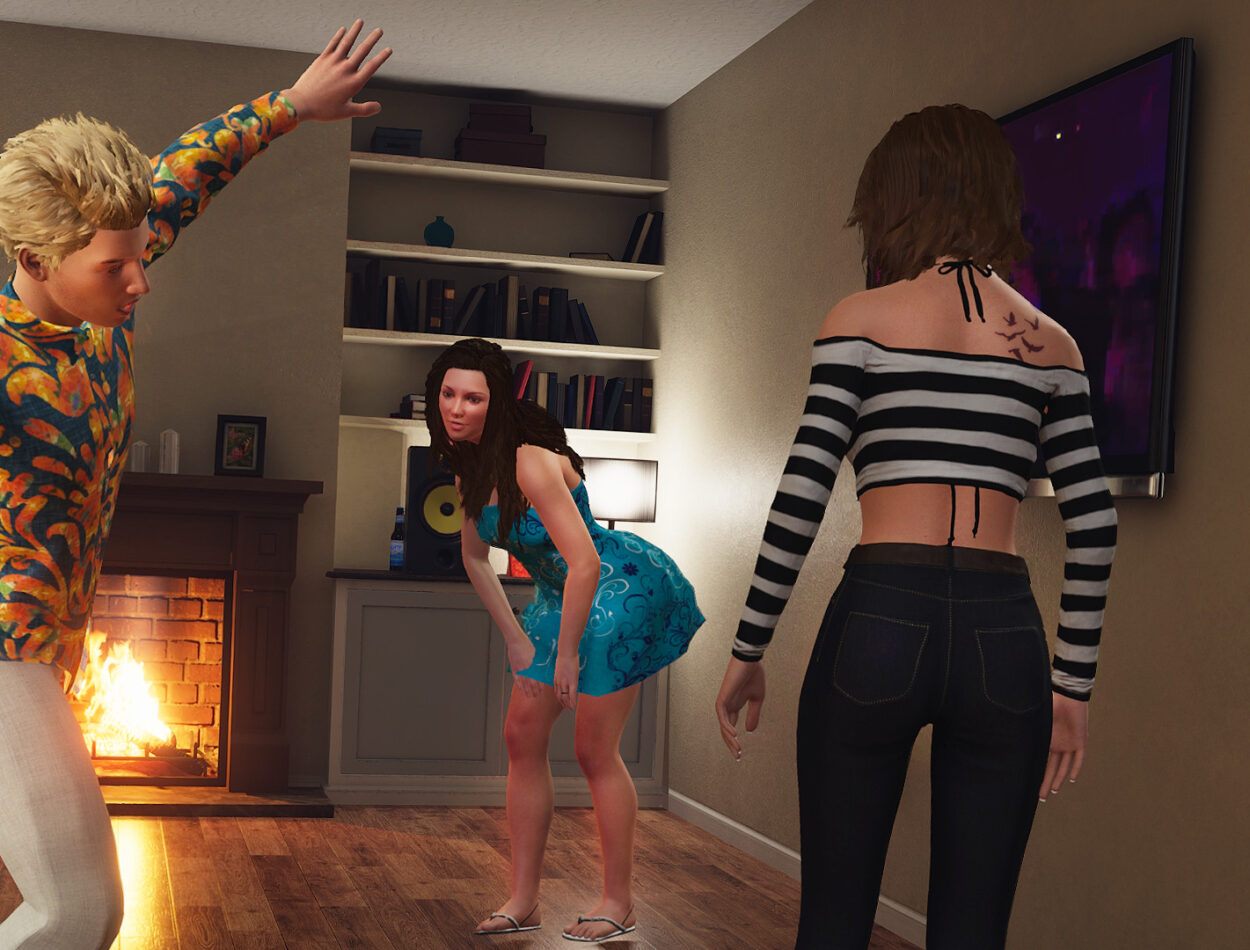 House Party All Endings Not Censored photo 3