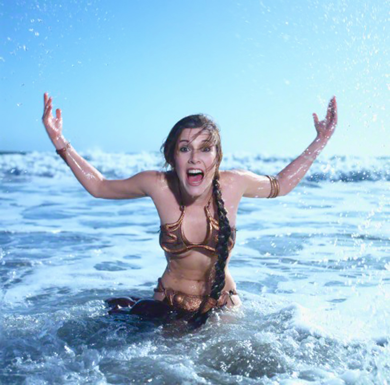 Carrie Fisher 1983 Rolling Stone Photoshoot photo 24