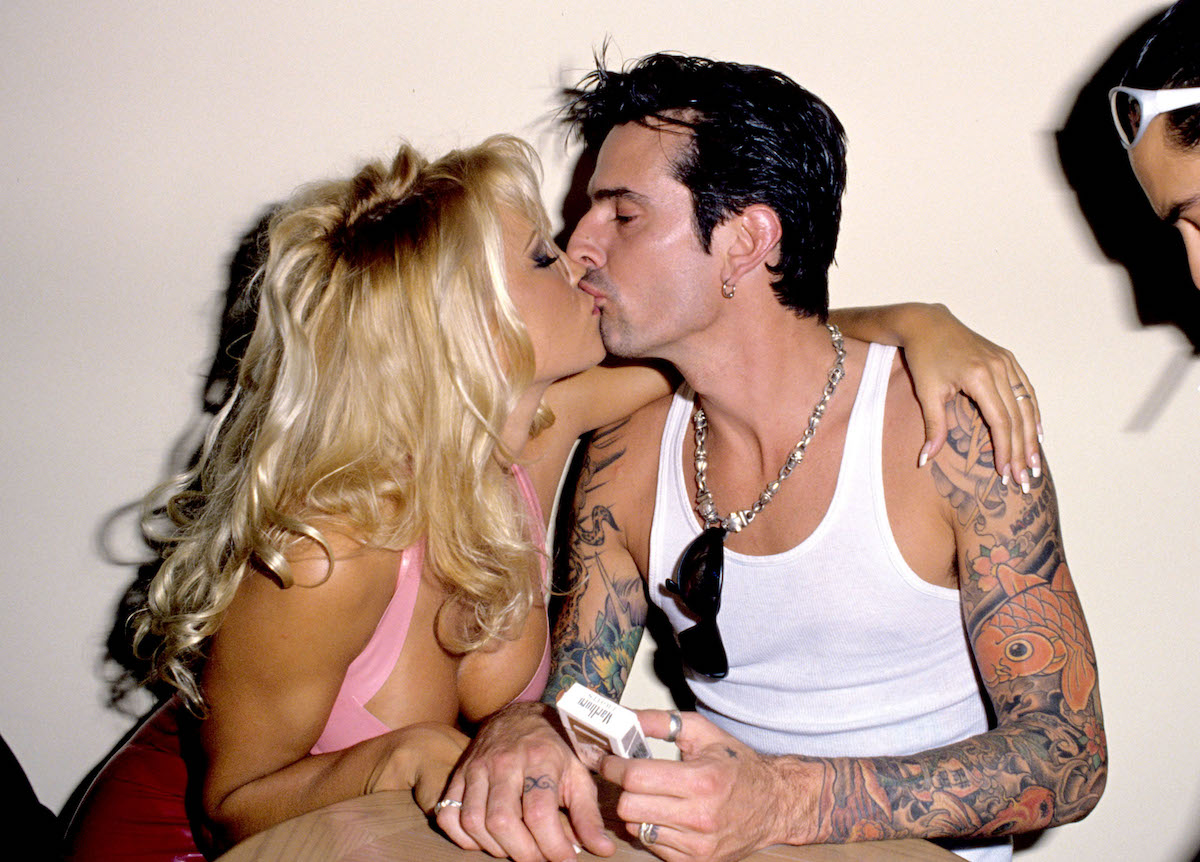 Tommy Lee And Pam Anderson Vid photo 28