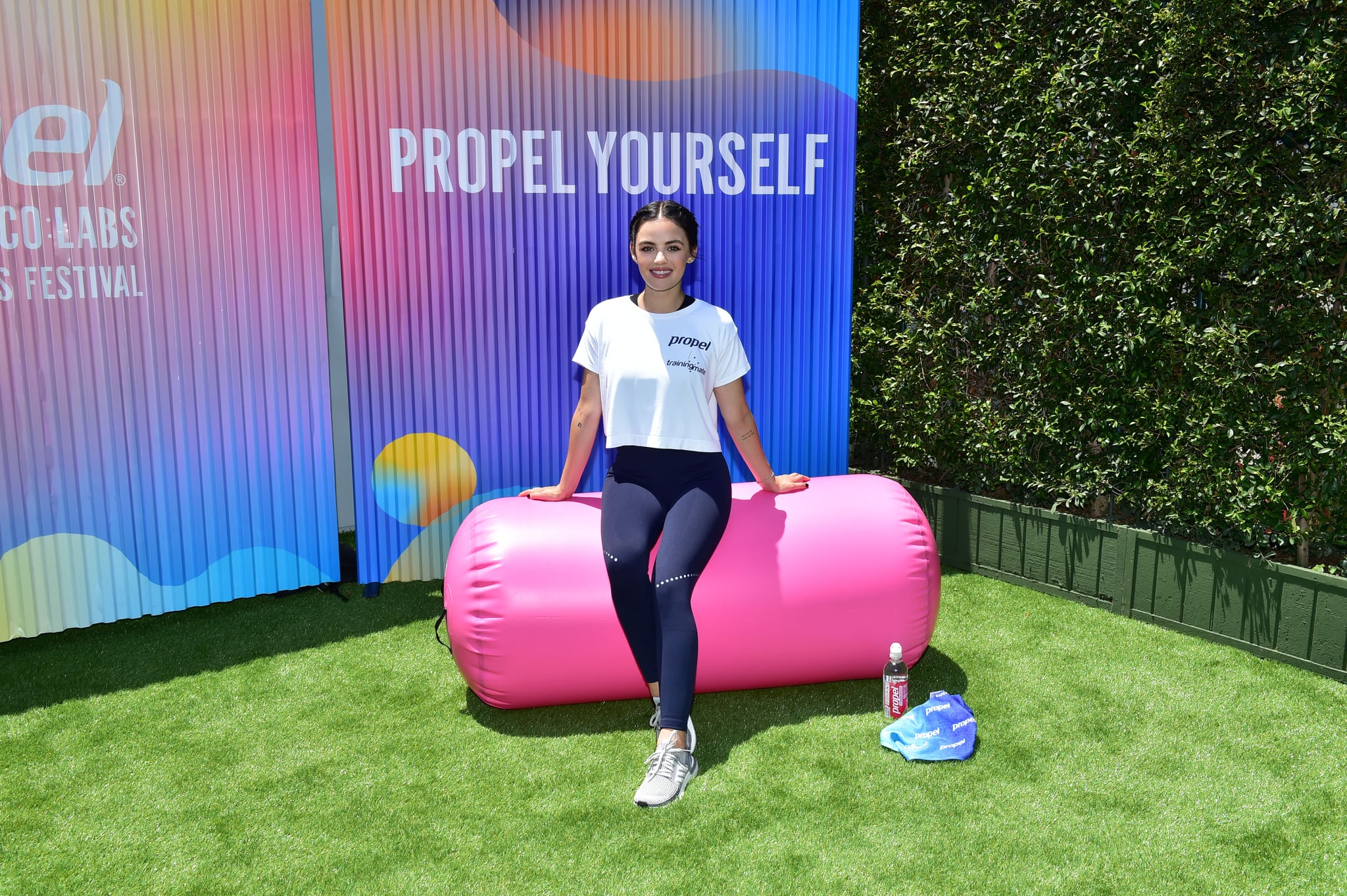 Lucy Hale Workout photo 12