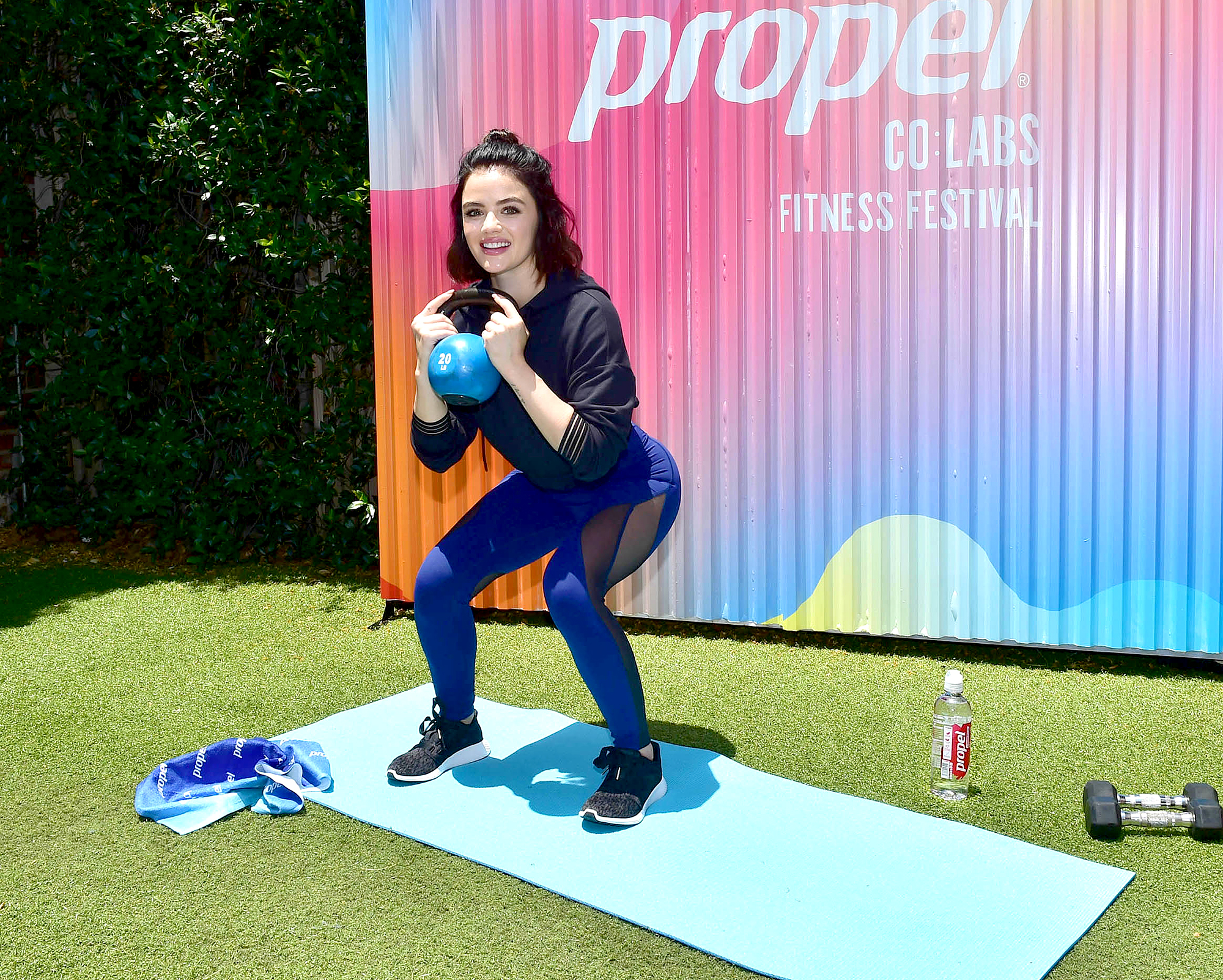 Lucy Hale Workout photo 11
