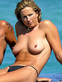 Penny Lancaster Topless photo 16
